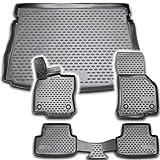 AD Tuning TM30007+FM21004 TPE Gummi Kofferraumwanne & Fußmatten Set
