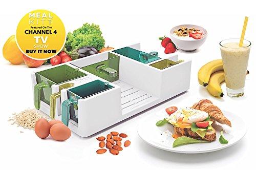 MealKitt Portionskontrollwerkzeug | Das 28 Tage schlanke Diät & Trainings Anleitung | Informieren Sie sich über Lebensmittelgruppen und Essenszubereitung | Kalorienzahl für Sie | Kommt mit eRezepte & eFood Guide | BPA frei