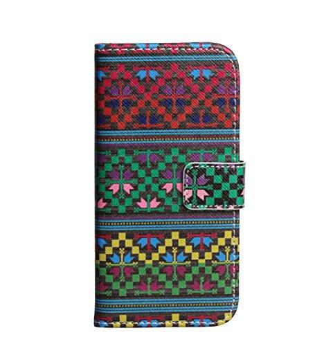 Monkey Cases® iPhone Plus 5,5pouces-Motif flip case-Étui-Multicolore-Original-Neuf-Premium pixels