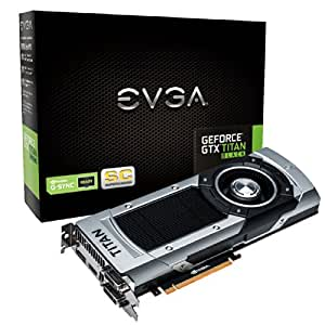 EVGA 06G-P4-3791-KR GeForce GTX TITAN 6Go GDDR5 carte graphique - cartes graphiques (GeForce GTX TITAN, 6 Go, GDDR5, 384 bit, 4096 x 2160 pixels, PCI Express 3.0)