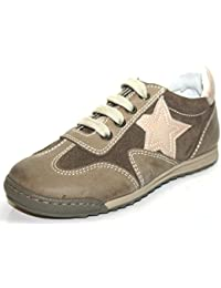 Cherie - Zapatos de cordones de Piel para niña morado morado