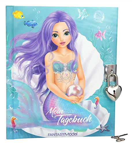 Depesche 10038 - Tagebuch Fantasy Model Mermaid (Schloss Für Mädchen)