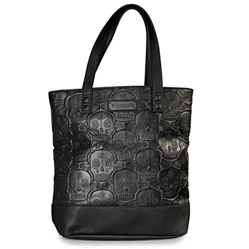 loungefly-emobossed-skull-tote-sac-de-shopping-noir-noir-taille-unique