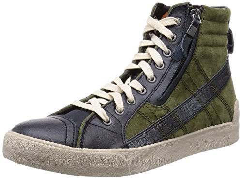 sneakers uomo Diesel mens high sneaker y01169 p0719 h5727 -- 45 eur - 12 us