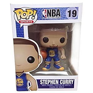 Funko Pop NBA Stephen Curry 19 Golden State Warriors by FunKo