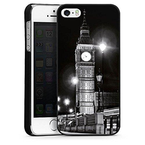 Apple iPhone 5s Housse étui coque protection Big Ben Londres Angleterre CasDur noir