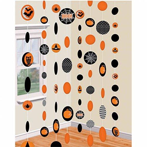 1,8m Halloween Papier Saiten Dekorationen ()