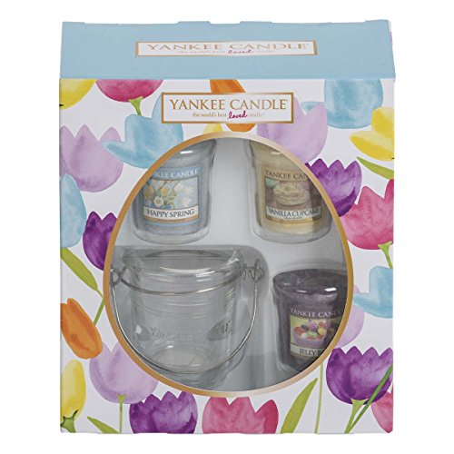 yankee-candle-easter-3-votive-and-votive-holder-giftset-multi-set-of-4