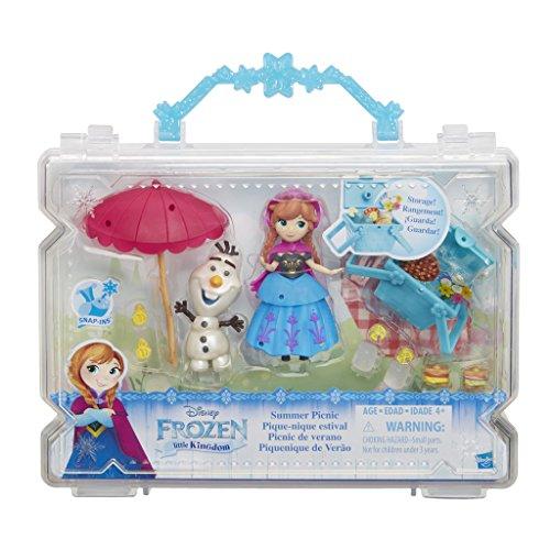Hasbro Disney Frozen Little Kingdom Summer Picnic muñeca - Muñecas, (Juego) Macho y Hembra, Chica, 4 año(s), Anna, Olaf, Canasta