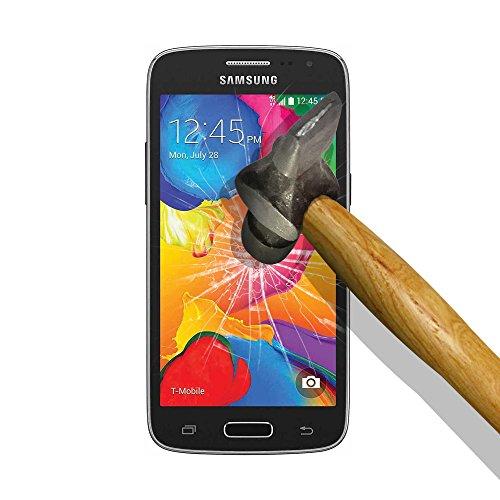 Samsung Galaxy Core LTE 4G SM-G386F - Avant G386T Hartglas Schutzglas, WoowCase - Gehärtetem Glas Panzerglas Schutzfolie für [ Samsung Galaxy Core LTE 4G SM-G386F - Avant G386T ]