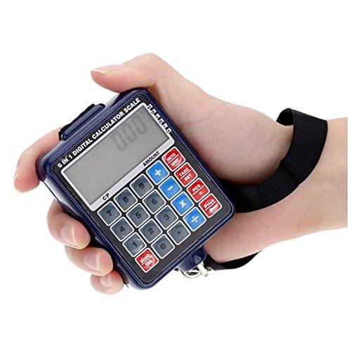 Ben-gi LCD-Hintergrundbeleuchtung Elektronische Waagen Mini Digital hängende Gepäck-Gewicht-Skala Rechner 50kg / 10g Gewicht