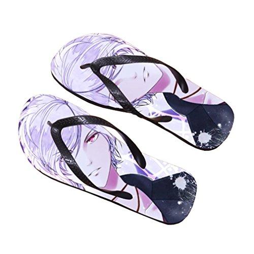 Bromeo Diabolik Lovers Anime Unisexe Flip Flops Tongs 873