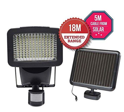 Solar Security Light, Motion Sensor für Garten Patio Garage Wand, erhöhen Home Security - Energieeffizient - Einfach zu installieren - Wasserdicht (120w) (Motion Solar Outdoor Light)