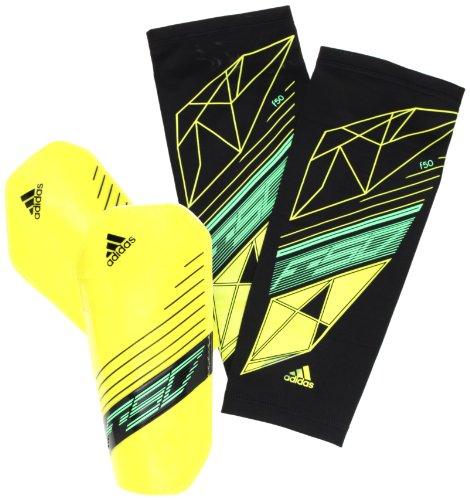 adidas Pro Lite - Espinilleras amarillo vivid yellow s13/white/black/green zest s13 Talla:extra-large