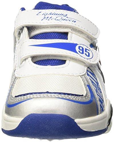 Walt Disney Jungen S17500iaz Niedrige Sneaker Silber / Schwarz