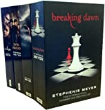 Stephenie Meyer Collection 4 Books Pack Set (breaking down, eclipse, new moon...