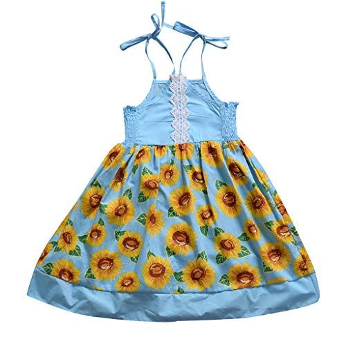 Mädchen Denim Kleid Kinderkleidung Mädchenkleider Kleinkind Baby Lange Ärmel Prinzessin Tutu Kleid Cowboy Kleider Sommerkleid Spitze Babykleidung Schöne Abendkleider