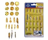 Best Wood Burning Tools - 22PC REPLACEMENT TIP WOOD BURNING PYROGRAPHY HOBBY KIT Review