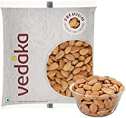 Amazon Brand - Vedaka Premium Roasted and Salted Almonds, 100g