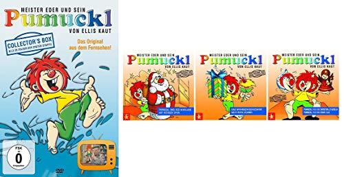 Pumuckl - Weihnachten: Hörspiel 1+2+3 & DVD Box Staffel 1 (3 CDs + 4 DVDs)