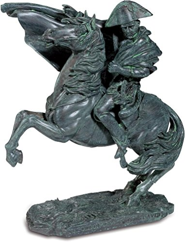 A+ Figur Napoleon Hufeisen Farbe Bronze grün von J. Louis David