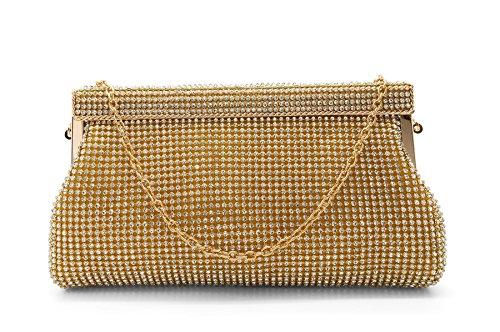 London Footwear - Sacchetto donna (oro)