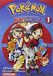 Pokémon Rubis et Saphir Edition simple Tome 1