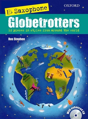 Saxophone Globetrotters, E flat edition + CD (Globetrotters for wind)
