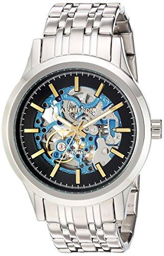 Armitron Men's 20/5170BLSV Automatic Silver-Tone Bracelet Watch