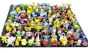 CNFT Pokemon Action Figures Set (144 Pieces) - Multi Color
