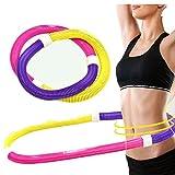 Fastar Spring Hula Hoop tragbar Flexible Übung Fitness Hula Hoop, Soft Hula Hoop Fitness Equipment, perfekt für Dancing Fitness und Gewicht Verlust