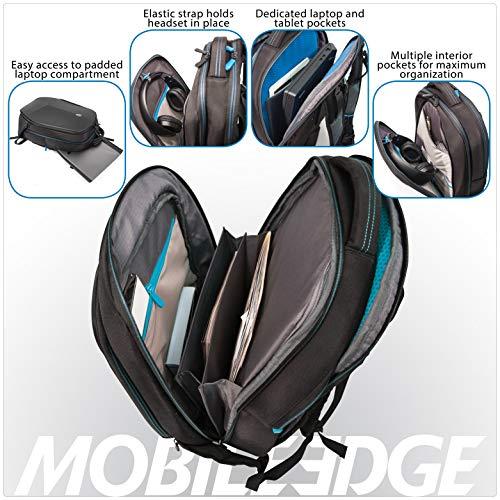 Mobile Edge Alienware 15 Inch Black Vindicator 2.0 Casual Backpack Image 4
