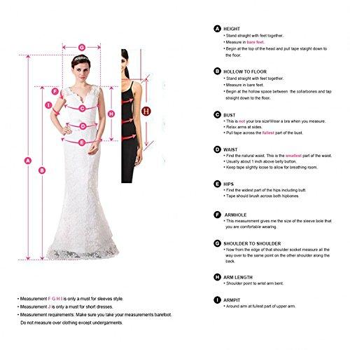 Beyonddress Damen Hi-Lo Abendkleider Asymmetrisch Trägerlos Ballkleid Perlen Taille Cocktailkleid Partykleid Kalkgrün
