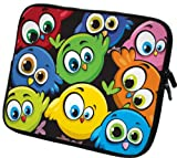 art&cherry Designer Laptoptasche Notebooktasche in 17 Zoll auch in 10 Zoll / 13 Zoll /14 Zoll / 15 Zoll erhältlich Sleeve Neopren Schutzhülle Netbook Tablet Cover Hülle Ipad 127