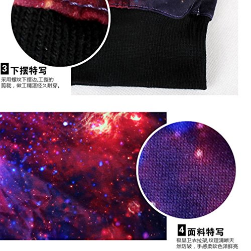 THENICE Femme Sweat-shirts Manches Pulls Printed Star