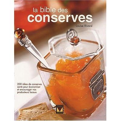 La bible des conserves