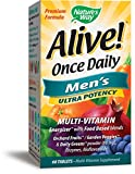 Nature's Way Alive! Once Daily Men's Multivitamin, Ultra Potency, Food-Based Blends