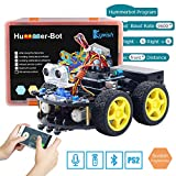 Keywish Smart Robot Car Kit per Arduino Hummer-Bot V2.0 Kit di apprendimento Fai-da-Te, Telecomando Auto con Uno R3, Tutorial, Moduli Bluetooth, Rilevamento Linea, Sensori ad ultrasuoni Regalo Kid