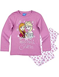 Disney El Reino del Hielo Chicas Pijama - púrpura