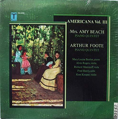 Americana Vol. III: Beach / Foote [Vinyl LP] Beach-tv