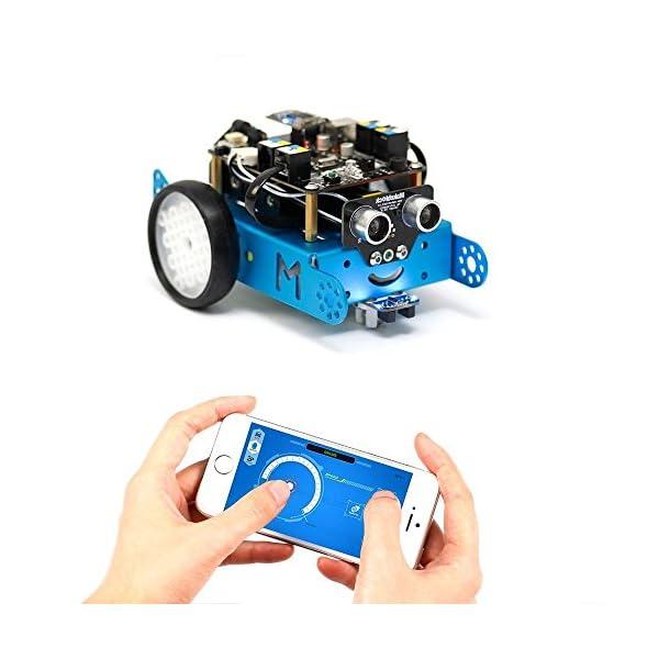 51x9b8qyvGL. SS600  - Makeblock - Robot Educativo MBOT, V1.1, Bluetooth