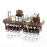 Porte-bouteilles de vin de cuisine porte-verre de vin rouge Porte-bouteilles de vin à l'envers Porte-bouteilles mural pour armoire à vin Porte-bouteilles pour cave à vin (Size : 150 * 31 * 30cm)
