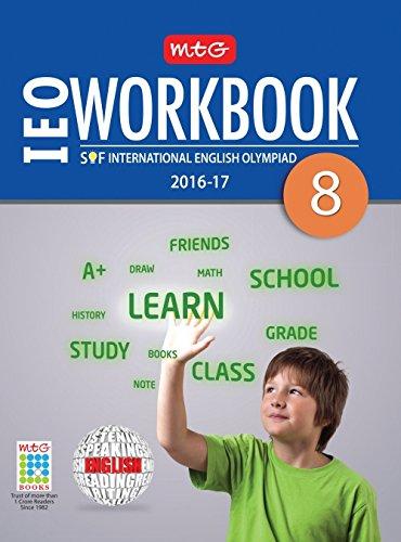 MTG International English Olympiad (IEO) Work Book - Class 8