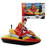 Feuerwehrmann Sam - Jet Ski Juno mit Batteriebetrieb & Ben Hooper