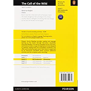Penguin Active Reading 2: Call of the Wild Book and CD-ROM Pack: Level 2 (Penguin Active Reading (Graded Readers))