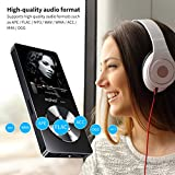 from MYMAHDI MYMAHDI 8GB Portable MP3 Player(Expandable Up to 128GB), Music Player/ One-key Voice Recorder/ FM Radio 70 hours playback with external speaker HD Headphone, Black Model M220-Black-8GB