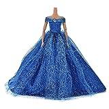 37YIMU® 1pcs Moda Muñecas vestidos falda en aventaja vestido ropa azul