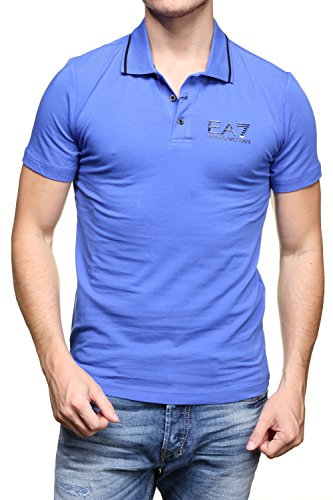 Emporio Armani -  Polo  - All'inglese  - Uomo Blue Small