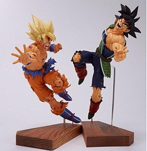 Mall Market Dragon Ball Kai Burdock Goku Action Figures Dragoll Figures PVC 210MM Esferas Dragon Ball Z Action Figure 2pcs/set