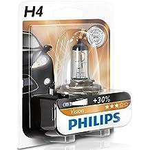 Philips 12342PRB1 Vision - Bombilla H4 para faros delanteros (12 V, 60 - 55 W)